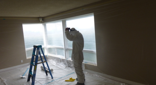 Popcorn Ceiling Removal Preparation