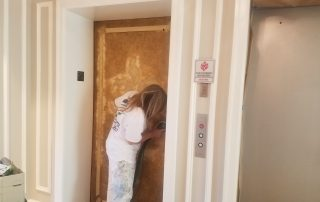 Kranenburg painting sarasota florida oaks lobby and elevator